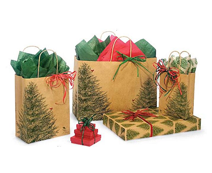 Красивый пакет под подарок